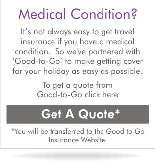get a quote with medical condition